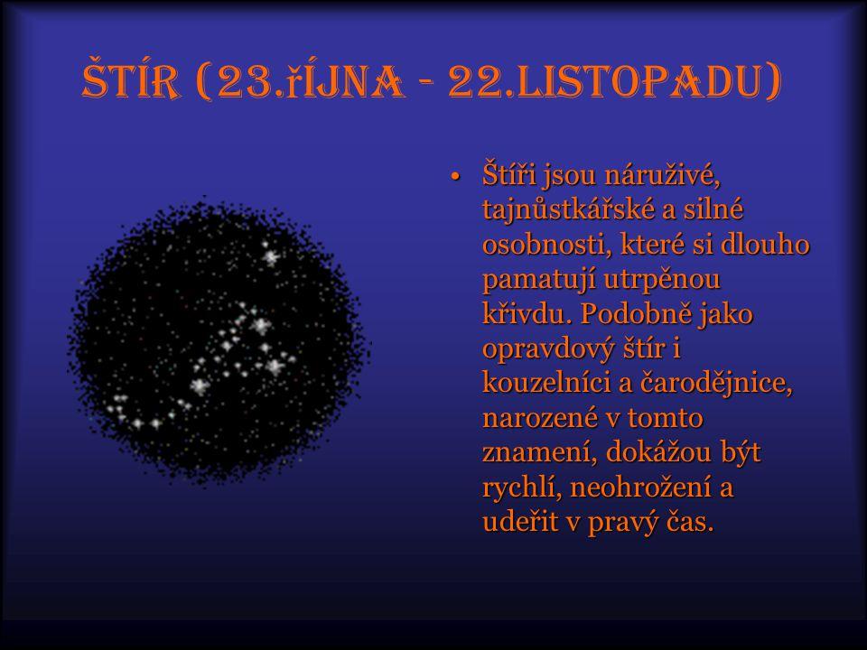 Štír (23.