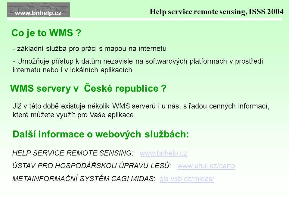 WMS OPRL v okně internetové aplikace CASCADE firmy HELP SERVICE R.S.