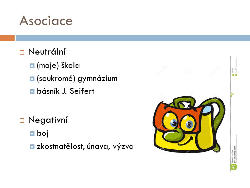 Asociace  Neutrální  (moje) škola  (soukromé) gymnázium  básník J.