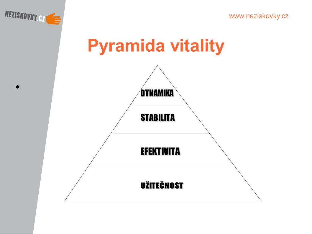www.neziskovky.cz Pyramida vitality