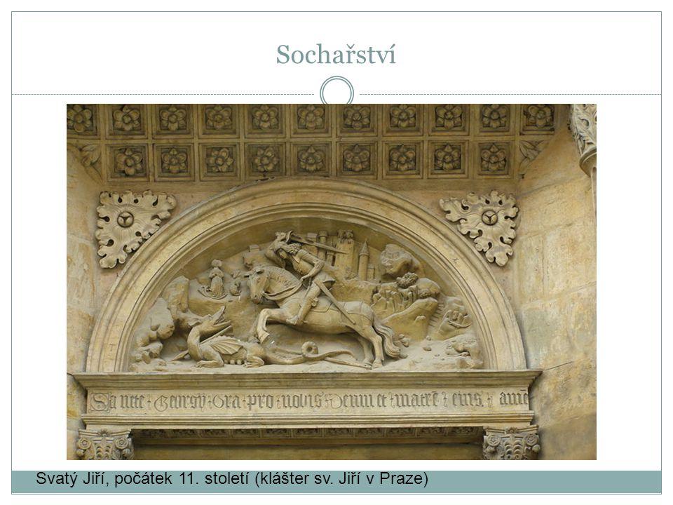 Sochařství Svatý Jiří, počátek 11. století (klášter sv. Jiří v Praze)