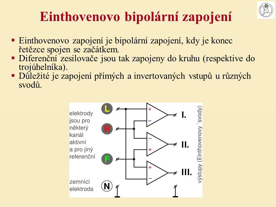  Einthovenovo zapojení je bipolární zapojení, kdy je konec řetězce spojen se začátkem.  Diferenční zesilovače jsou tak zapojeny do kruhu (respektive