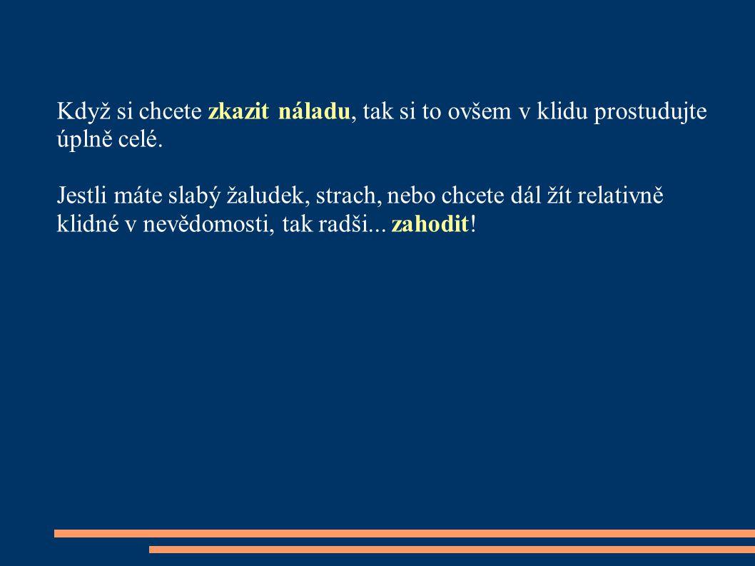 Nejprve výňatek dopis u od JUDr.Janečka advokáta agrární komory: Nechci Vám brát iluze, ale......