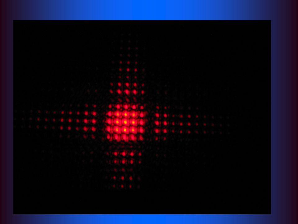 Ohyb světla na mřížce:
