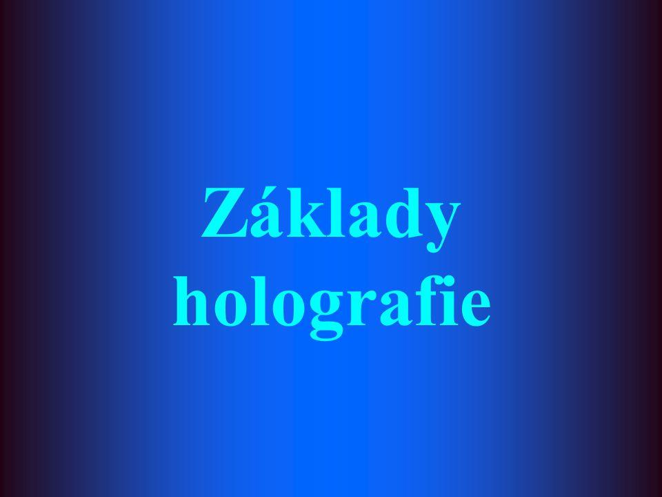 Základy holografie