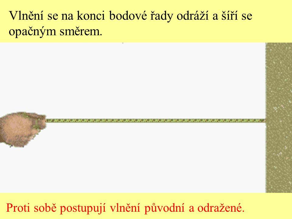 Vlnění mají stejné amplitudy a vlnové délky.