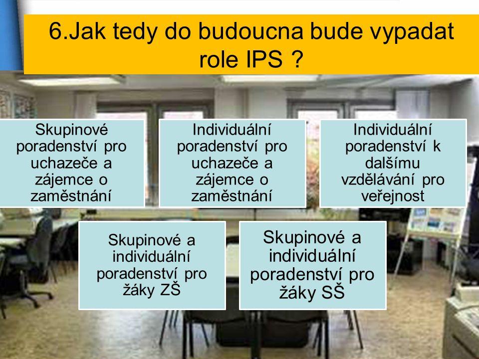 6.Jak tedy do budoucna bude vypadat role IPS .