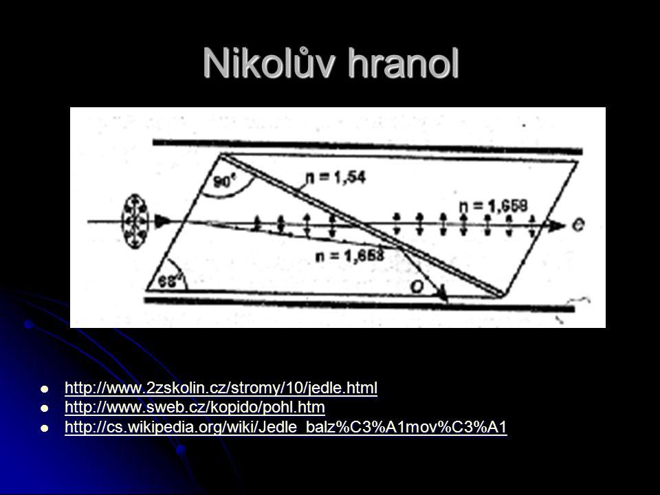 Nikolův hranol http://www.2zskolin.cz/stromy/10/jedle.html http://www.2zskolin.cz/stromy/10/jedle.html http://www.2zskolin.cz/stromy/10/jedle.html htt
