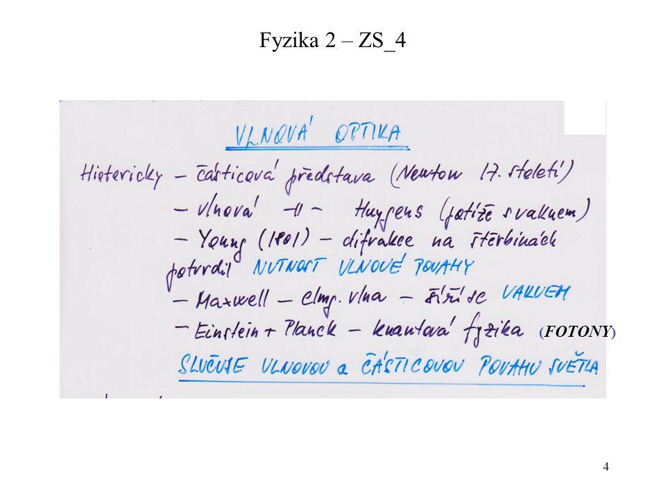 4 Fyzika 2 – ZS_4 ( FOTONY )