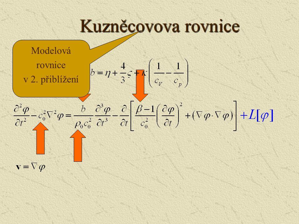 Základní rovnice  Navierova-Stokesova pohybová rovnice  Rovnice kontinuity  Rovnice toku tepla  Stavová rovnice
