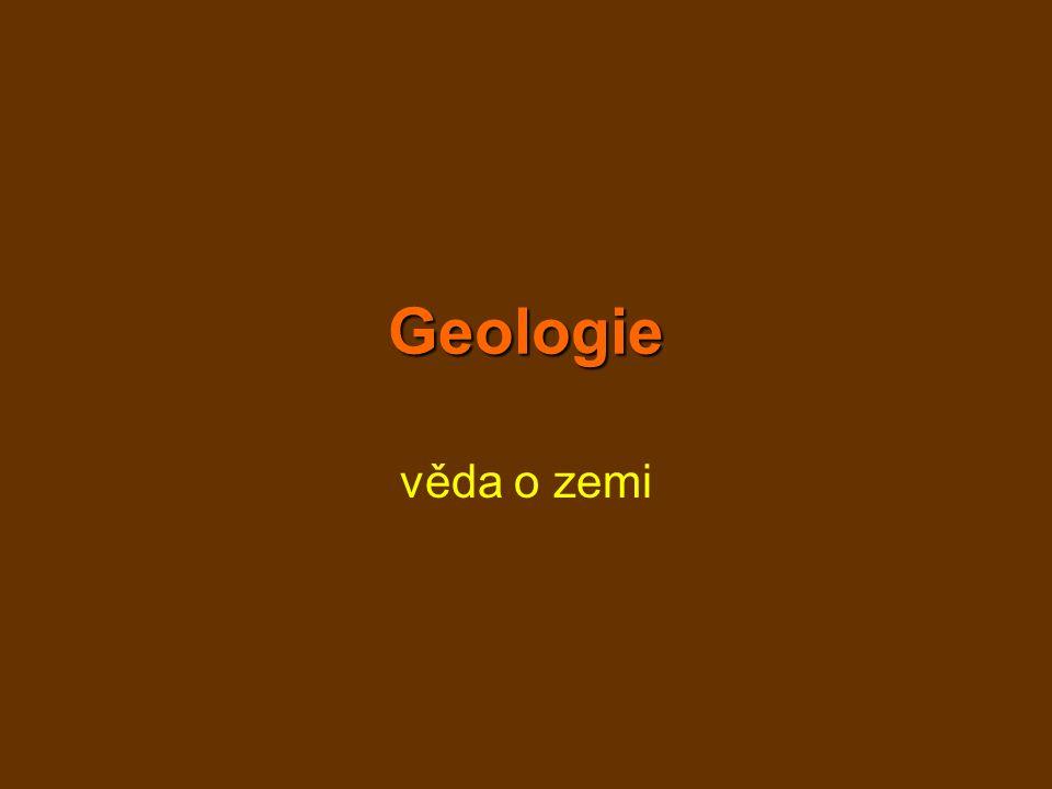 Geologie věda o zemi