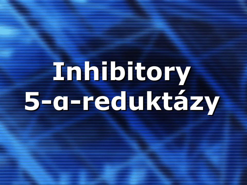 Inhibitory 5-α-reduktázy