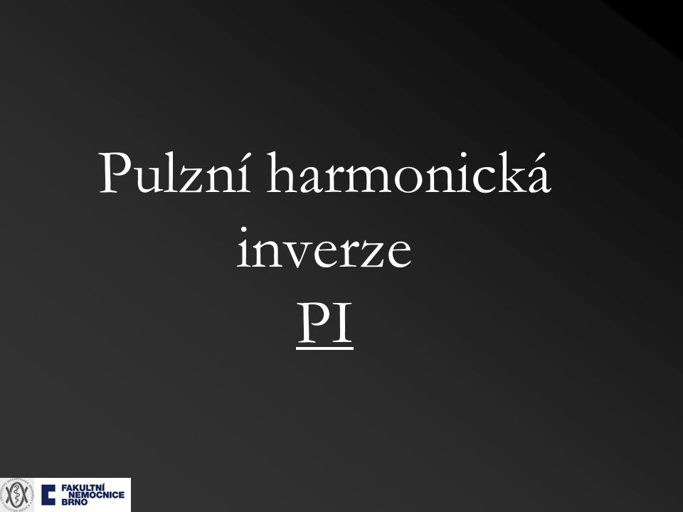 Pulzní harmonická inverze PI