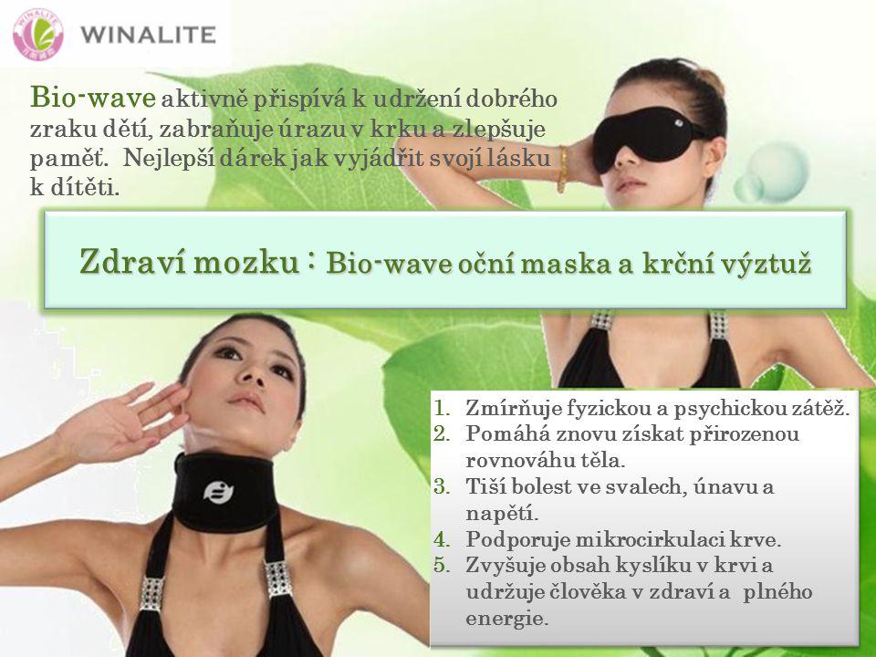 1.Zmírňuje fyzickou a psychickou zátěž. 2.Pomáhá znovu získat přirozenou rovnováhu těla.