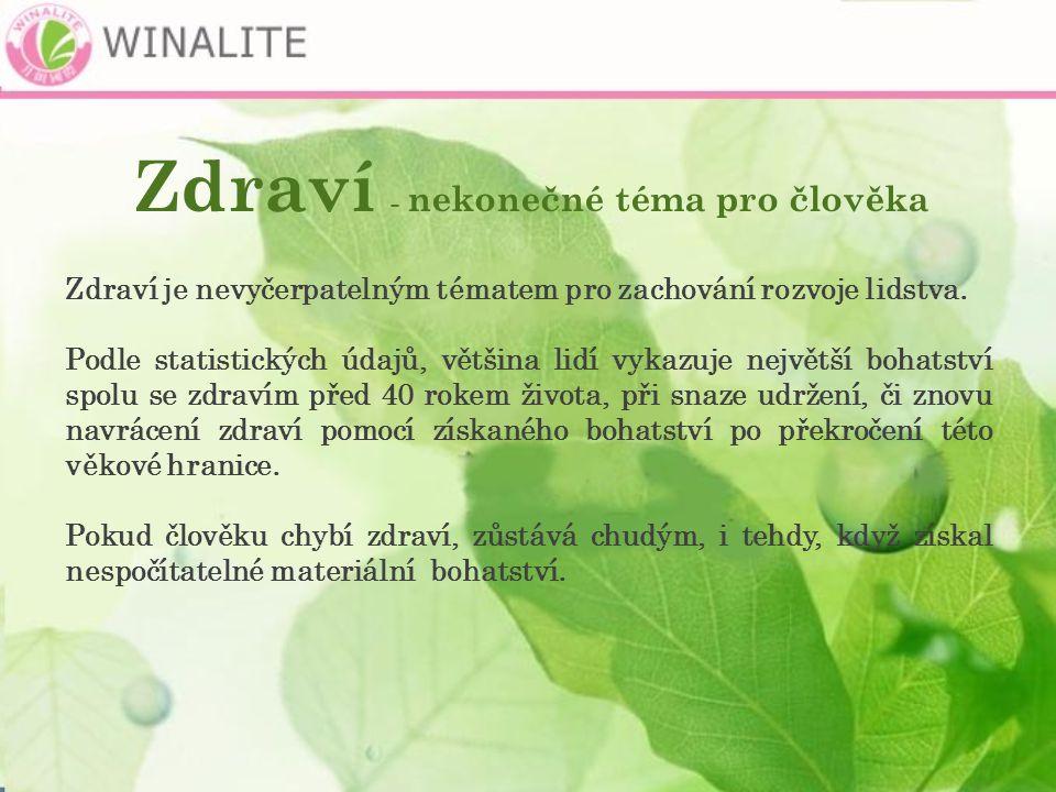 Zabijáci zdraví Stres Znečistěná voda Pesticidy Nevyvážená strava Vedlejší účinky chem.