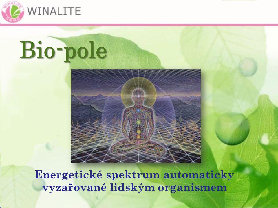 Energetické spektrum automaticky vyzařované lidským organismem Bio-pole