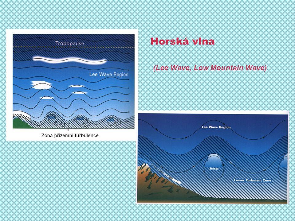 Vítr: Směr, rychlost a rovněž střih větru: - silný přízemní vítr související s místní orografií, - horská vlna (včetně rotorů v nízkých hladinách v oblasti letiště) - teplotní inverze v nízkých hladinách Mechanická turbulence: - vírové, rotorové a vlnové proudění - údolní a svahové větry - boční vítr související s osou VPD - přelety překážek nízko nad terénem