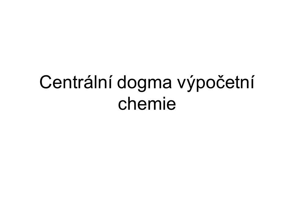 Centrální dogma výpočetní chemie
