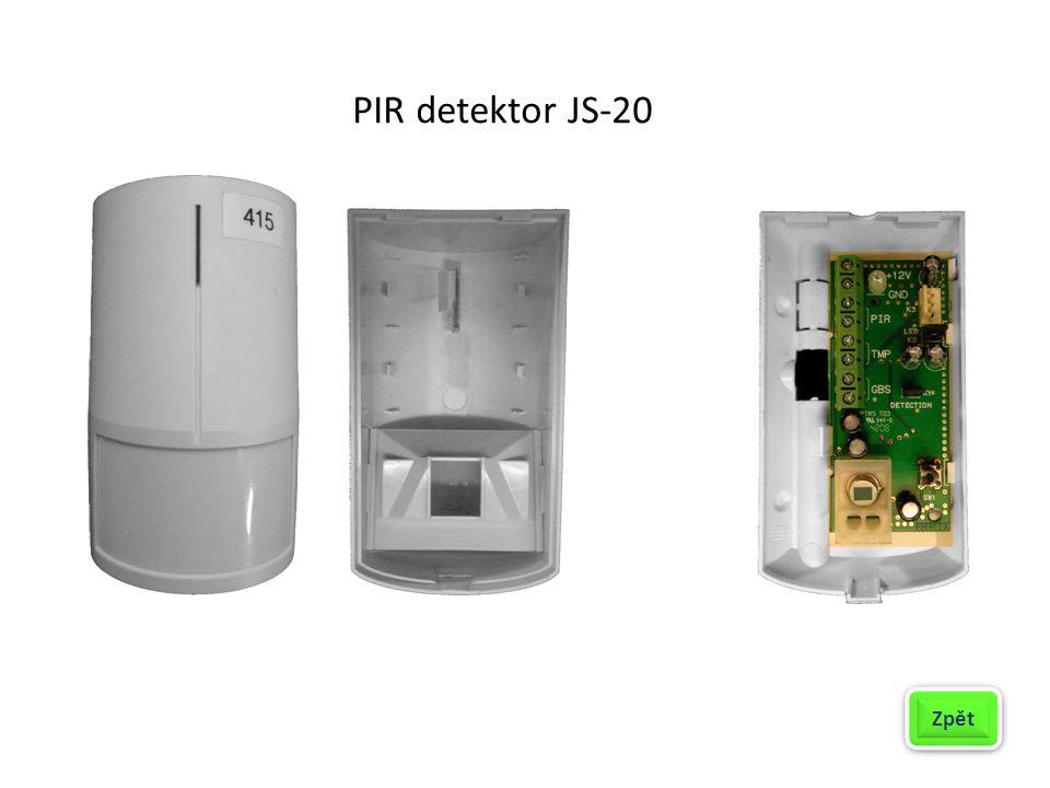 Způsoby zapojení detektoru