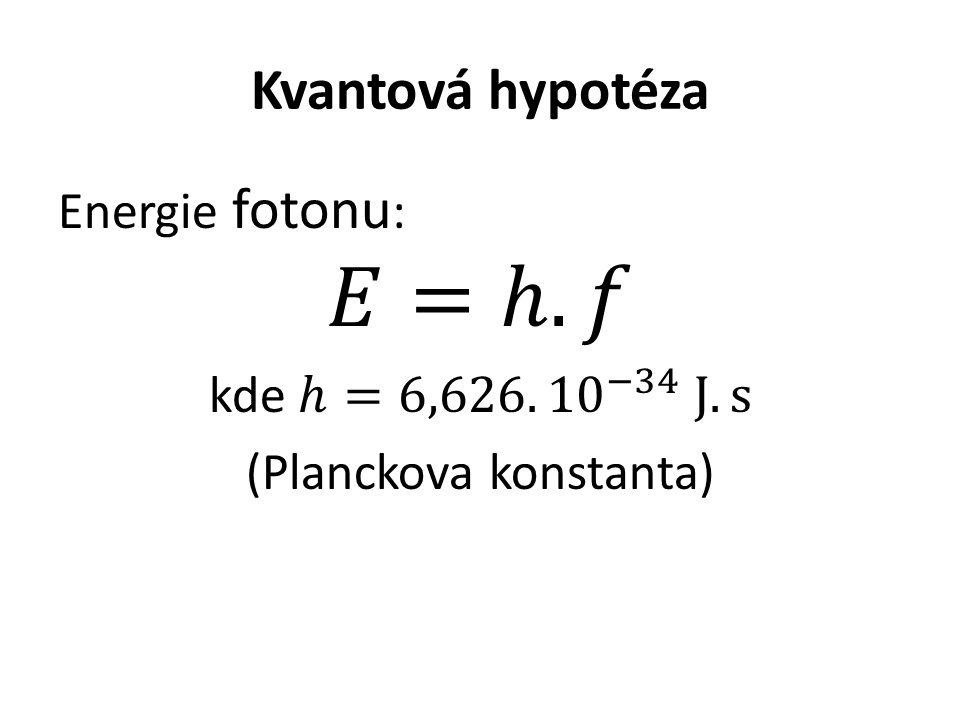 Kvantová hypotéza