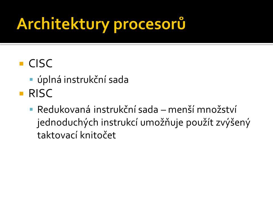  Sekvenční zařízení  Připojení: IDE, SCSI, řadič disket  Páskové streamery – interní, externí