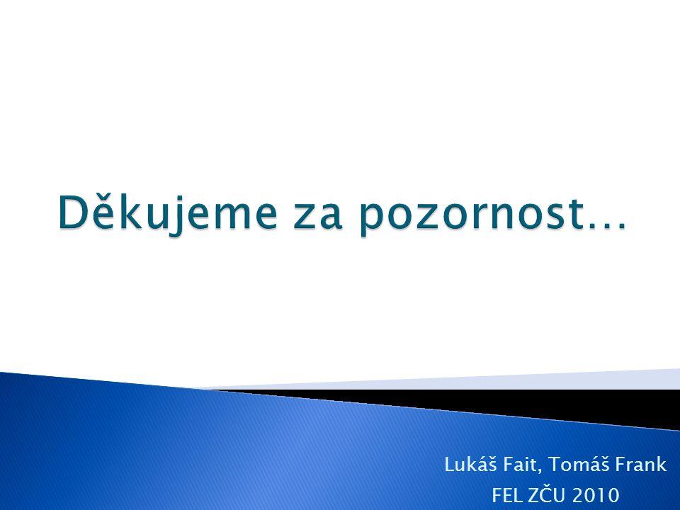 Lukáš Fait, Tomáš Frank FEL ZČU 2010