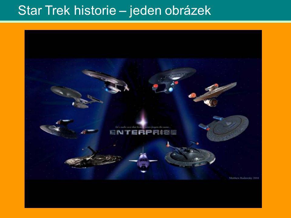 Star Trek historie – jeden obrázek