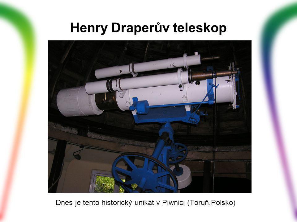 Henry Draperův teleskop Dnes je tento historický unikát v Piwnici (Toruň,Polsko)