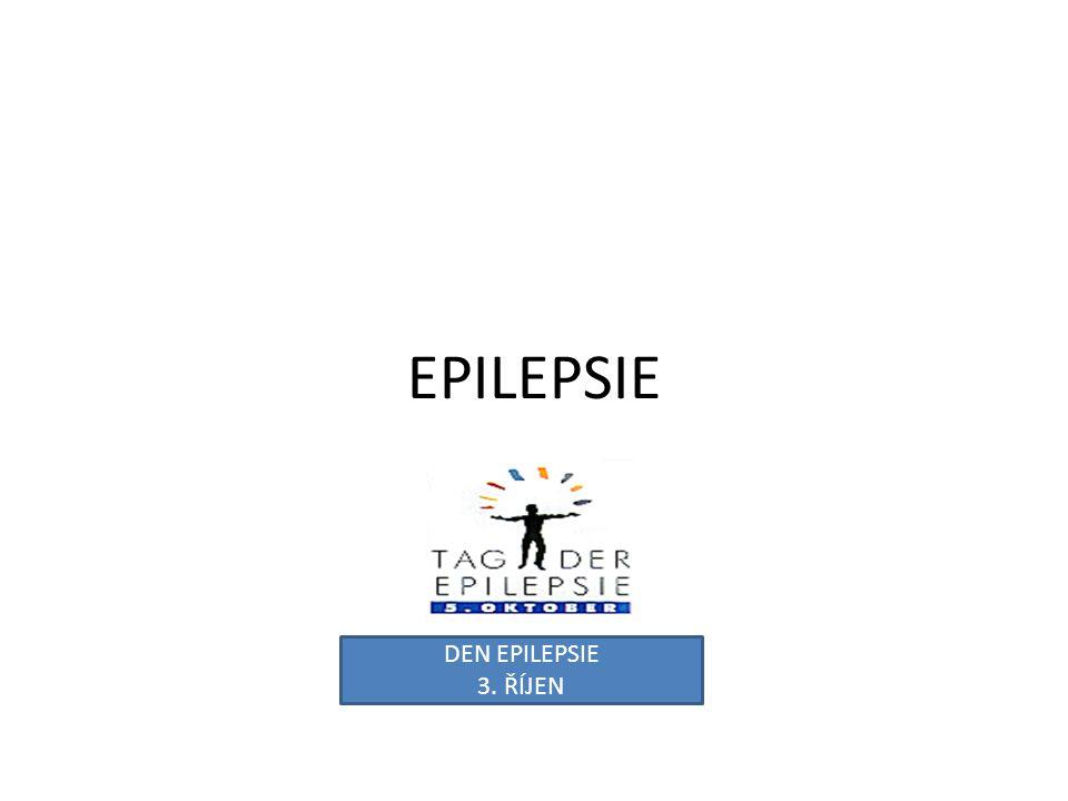 EPILEPSIE DEN EPILEPSIE 3. ŘÍJEN