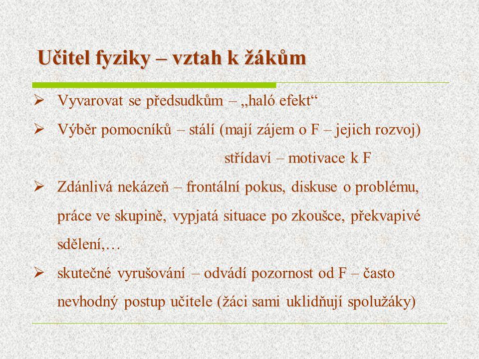 Příprava učitelů fyziky na MFF UK Praha Navazující studium pro SŠ  Ped–psych.