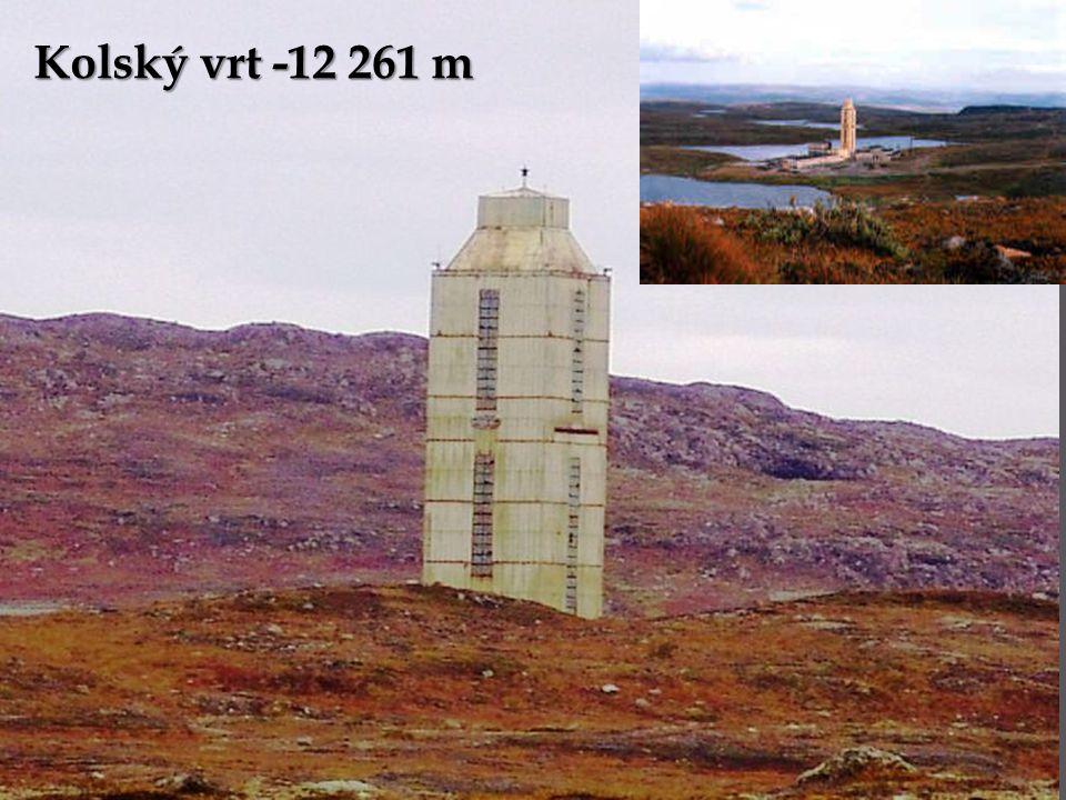 Kolský vrt -12 261 m
