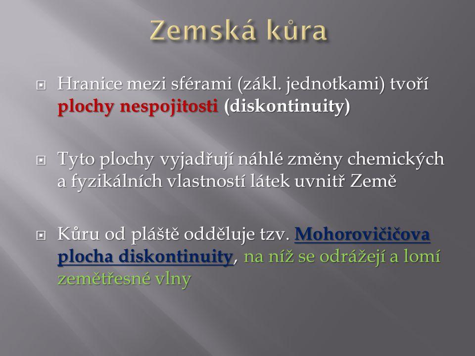  nebo Mohorovičićova vrstva nespojitosti je vrstva, která geologicky definuje přechod zemské kůry a svrchního pláště  Nachází se v rozmezí hloubek 20–90 kilometrů pod kontinenty a 10–20 kilometrů pod oceány  V ČR se pohybuje vrstva mezi 30.
