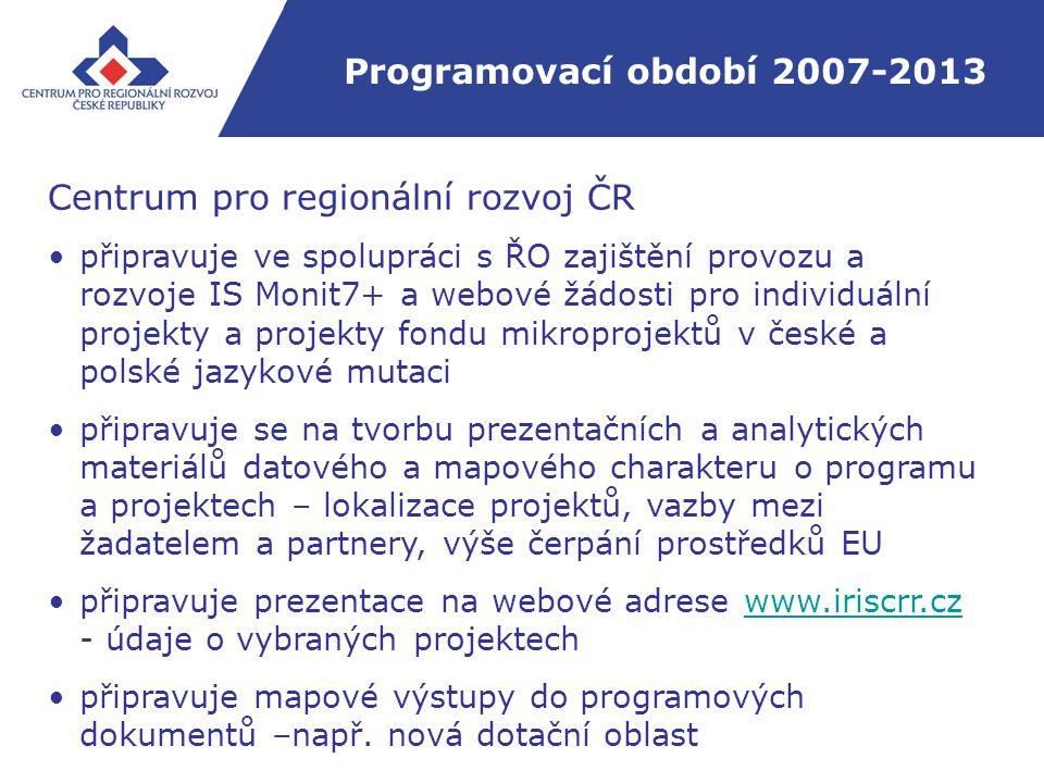 Programovací období 2007-2013