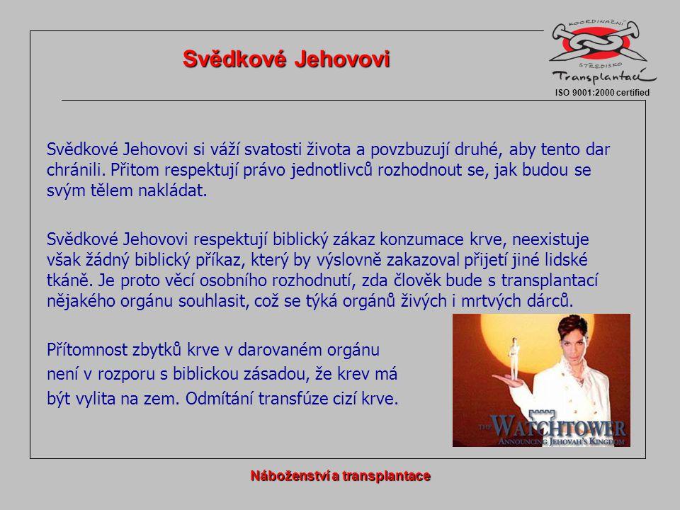 Svědkové Jehovovi si váží svatosti života a povzbuzují druhé, aby tento dar chránili. Přitom respektují právo jednotlivců rozhodnout se, jak budou se
