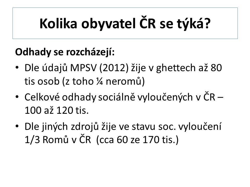Kolika obyvatel ČR se týká.