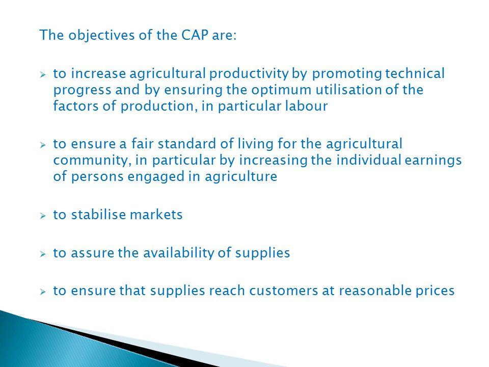Společná zemědělská politika je nejdůležitějším nástrojem Evropské unie pro oblast zemědělství.
