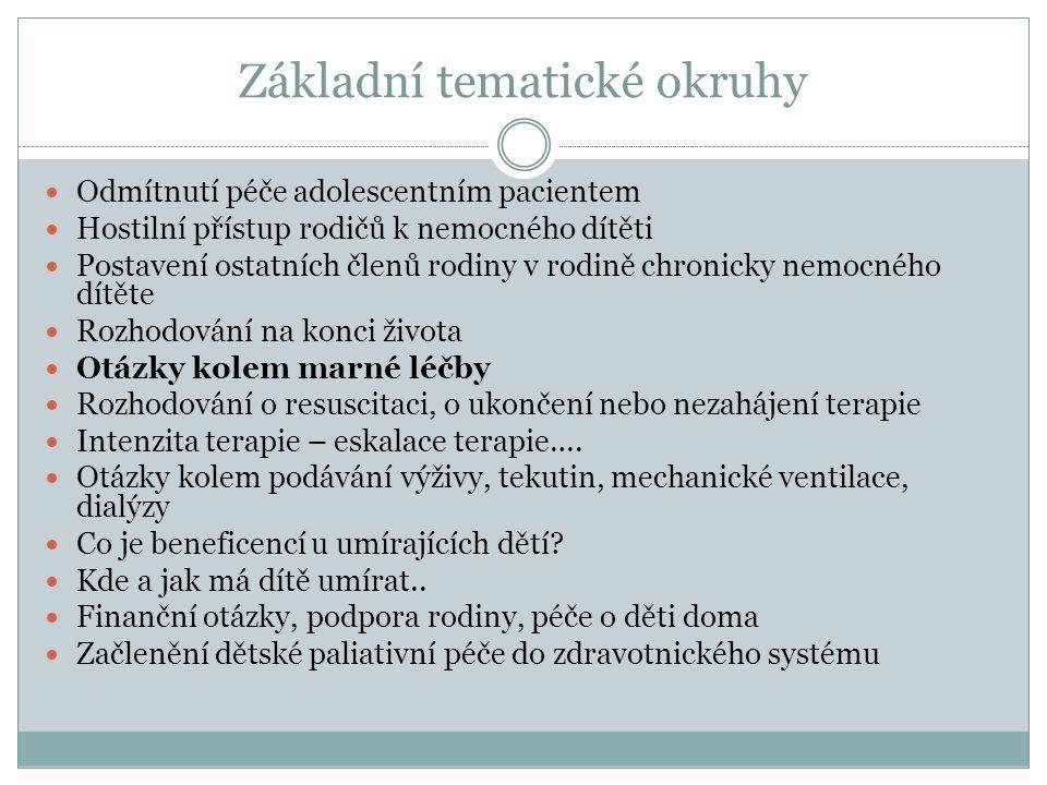 Co všechno je marná léčba.Doporučení představenstva České lékařské komory č.