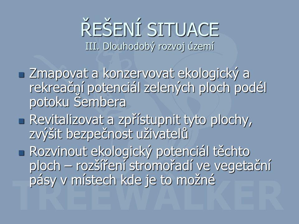 ŘEŠENÍ SITUACE III.