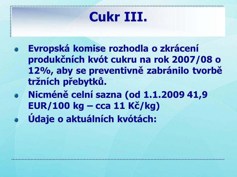Cukr III.