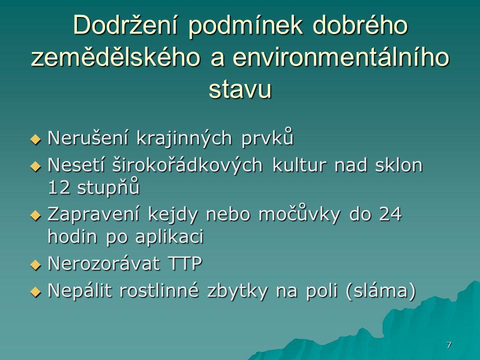 38 Žádost o snížení  Současně s žádostí o dotaci (do 15.5)  Do 31.1.