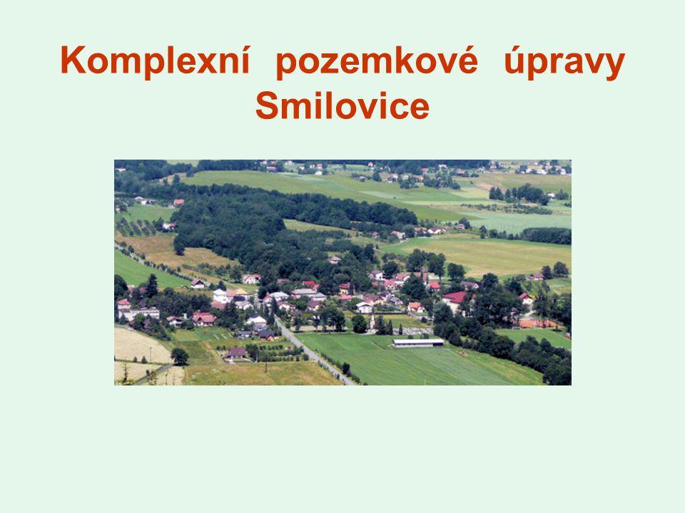 Komplexní pozemkové úpravy Smilovice