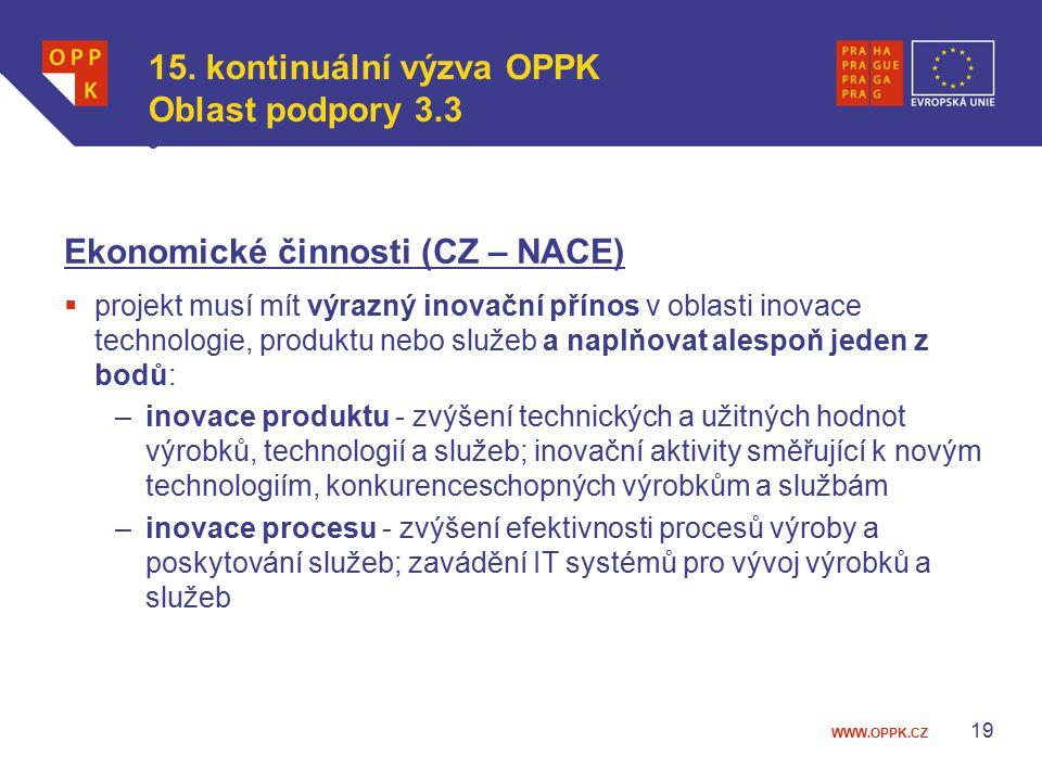 WWW.OPPK.CZ 19 15.