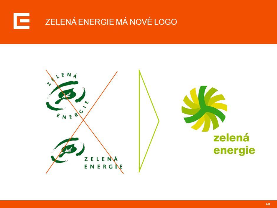10 ZELENÁ ENERGIE MÁ NOVÉ LOGO