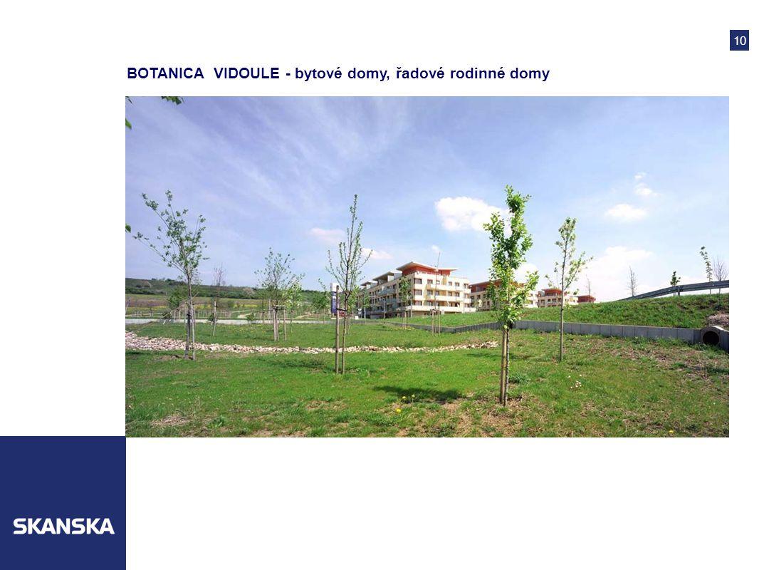 10 BOTANICA VIDOULE - bytové domy, řadové rodinné domy