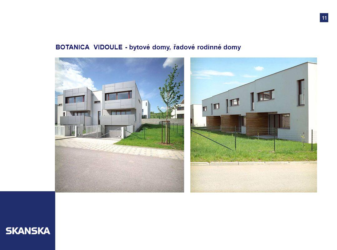 11 BOTANICA VIDOULE - bytové domy, řadové rodinné domy