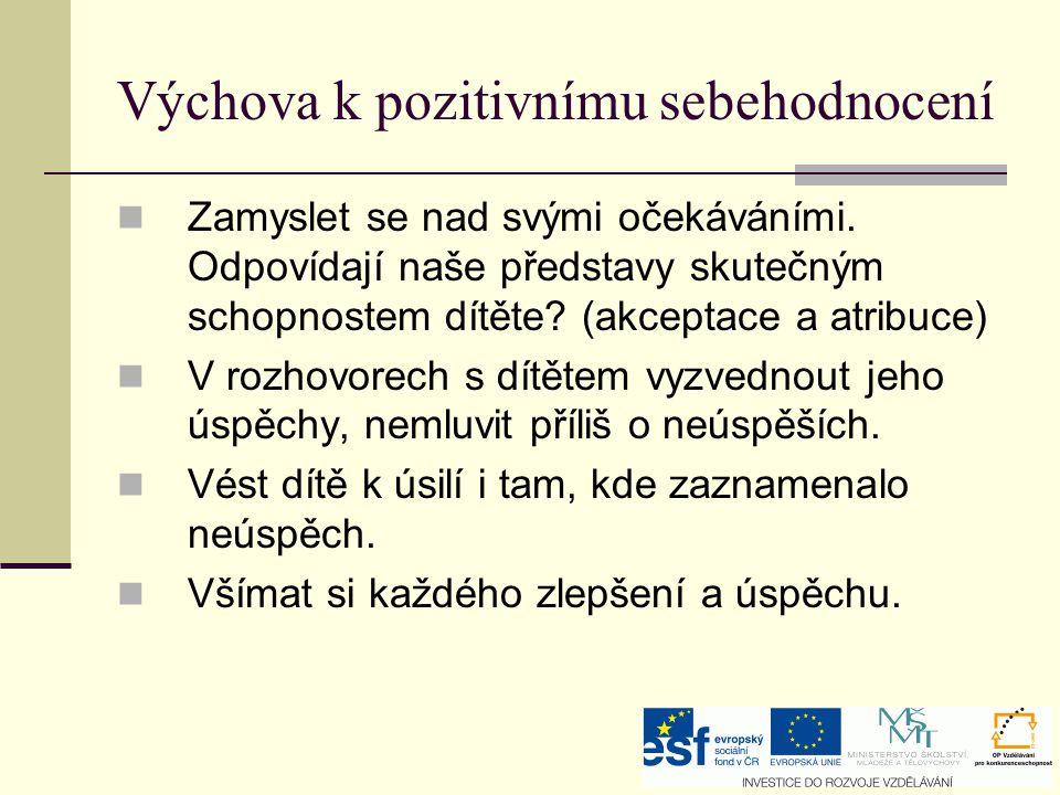 Vývojová psychologie Tělesné já Psychologické já I.