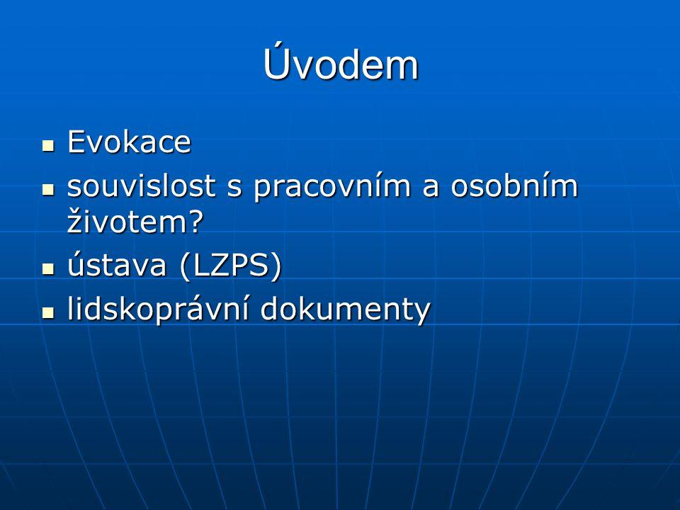 Základní norma lp dokumentů Vnitřní významová souvislost ld a lp Vnitřní významová souvislost ld a lp dvě otázky: dvě otázky: 1.