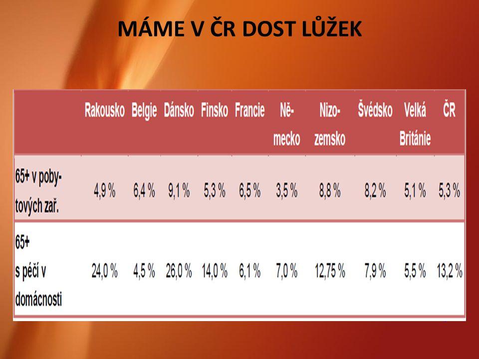 7 MÁME V ČR DOST LŮŽEK