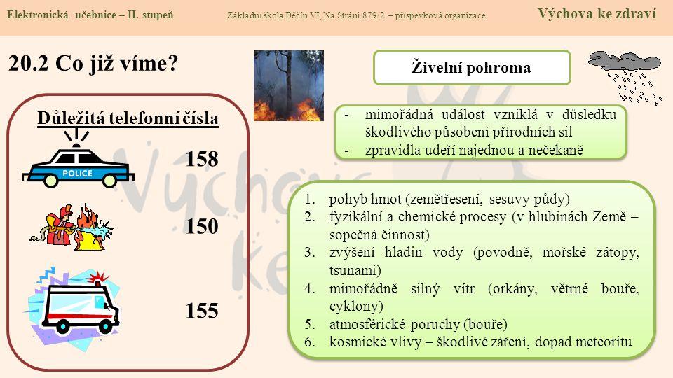 20.2 Co již víme.Elektronická učebnice - II.