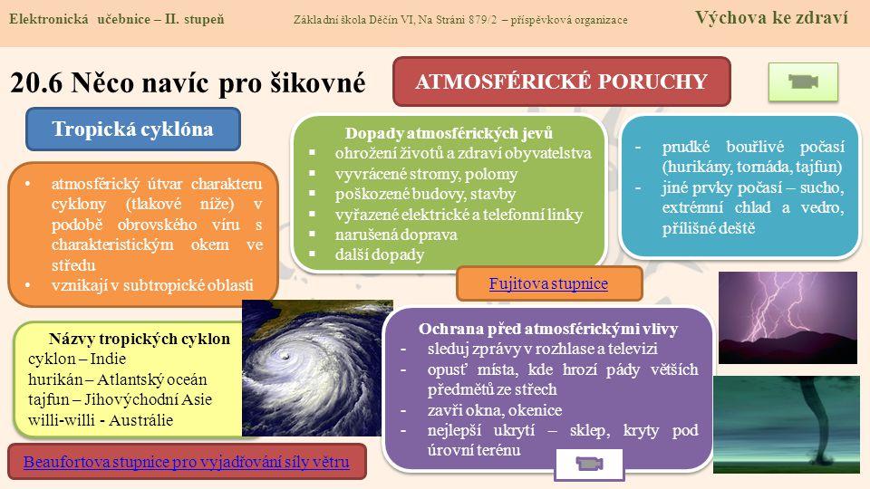 20.6 Něco navíc pro šikovné Elektronická učebnice - II.